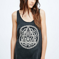 Staring at Stars Hamsa Acid Tee in Grey - Urban Outfitters