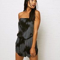 Don't Ask Why Strapless Romper, True Black