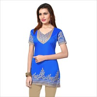 Indian tunic tops