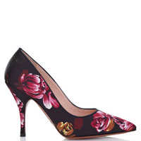 Palter DeLiso Fancy Pump In Black by Palter DeLiso for Preorder on Moda Operandi