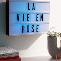 Multi-Color Cinema Box LED Light | Urban Outfitters