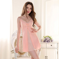 silk nightgowns women silk satin nightgowns night dress ladies sexy nightgown xl women sleep chemise silk kit nighty