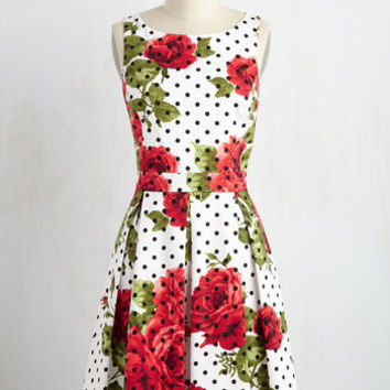 Patterns of Endearment Dress | Mod Retro Vintage Dresses | ModCloth.com