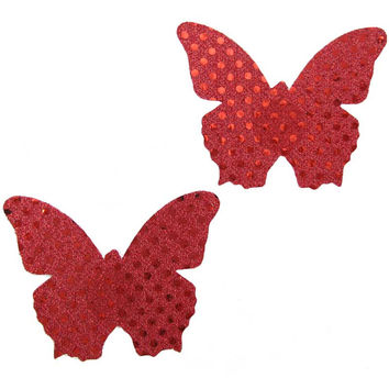 Butterfly Red Pasties