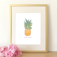 SALE! Pineapple Express Art Print