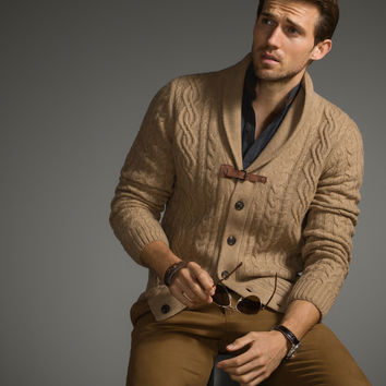 Sweaters Cable Knit Equestrian Cardigans The Edición Un Cardigan limitada Men rnrXwdAYqx