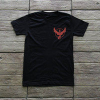 Pokemon Go Shirt Team Valor Shirt T Shirt TShirt