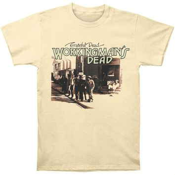 Grateful Dead Men's  Workingman's Dead T-shirt Ivory