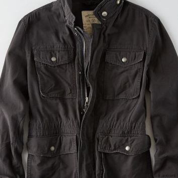 AEO Men's Surplus Jacket (Black)