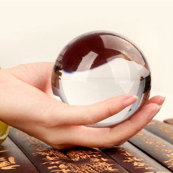 K9 Crystal Crystal Ball Sphere Lens Ball Photography Prop Fengshui Meditation Glass Healing Magic Globe Photography Accessiores