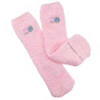 Little twin stars Kiki & Lala fluffy warm socks sanriocarrawalmer toy women's cold weather socks store