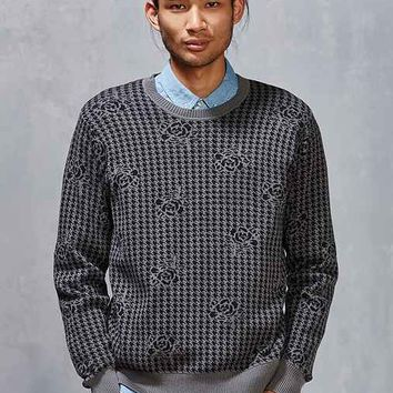 OBEY Loner Houndstooth Sweater
