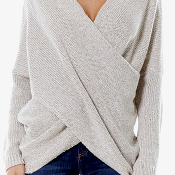 Harlow Sweater (Oatmeal)
