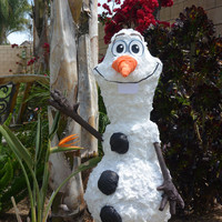 Snowman Special Collectors Edition Custom Piñata  frozen party decoration pinata Snowman Party Pinata