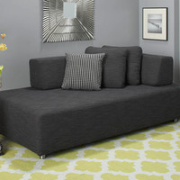 Plummers - Fabric Sofas - Aviest Loveseat -Black