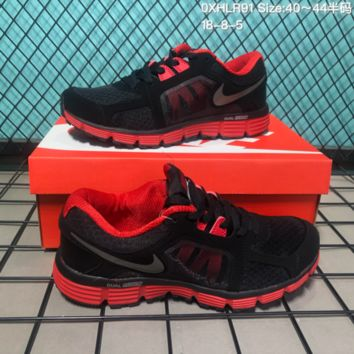 DCCK N210 Nike Dual Fusion ST2 msl 2018 Outdoor Sports Shoes Red Black