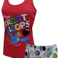 Kellogg's Fruit Loops Toucan Sam Shortie Pajama Set