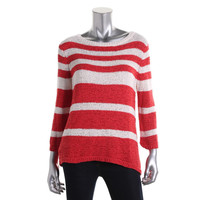 Style & Co. Womens Knit Stretch Pullover Sweater