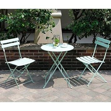 Garden Bistro Set Folding Outdoor Patio Furniture Sets Table Chairs Set