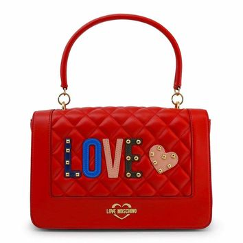 Love Moschino Jc4225Pp06Kc Women Red Crossbody Bags