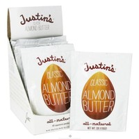 Justin's Nut Butter, Classic Almond Butter, All-Natural, 10 Squeeze Packs, 1.15 oz (32 g) Per Pack(pack of 1) - Walmart.com