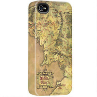 The Lord of the Rings Middle-earth Map iPhone Case |