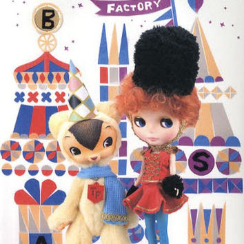 Dollybird Vol.13 - Japanese Sewing Pattern Books for Dolls - Kawaii & Lovely Doll Costume Clothes, Accessory - B135