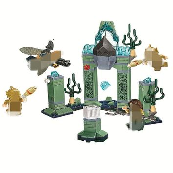 10841 Marvel Avengers DC Super Heroes Aquaman Battle Of Atlantis Building Block Brick Toy Compatible With Lego
