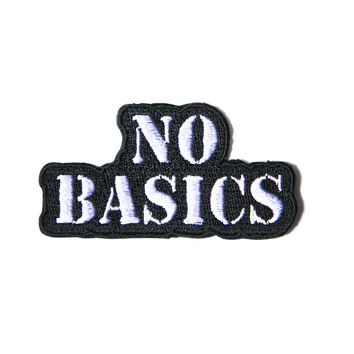 Hollywood Mirror No Basics Patch Black/White One