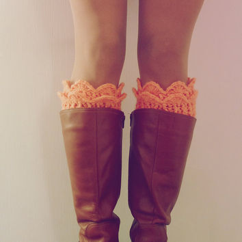 Boot Cuff Pattern Crochet  - Winter Trends Lucy Leg Warmers