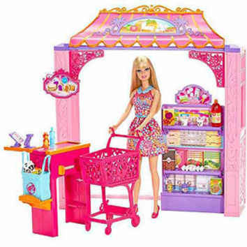 Walmart: Barbie Market Shop With Doll