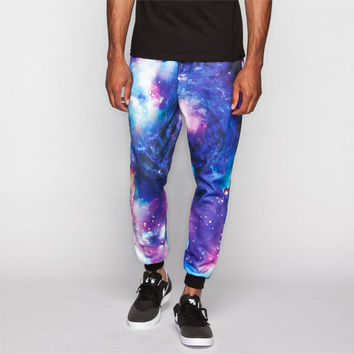 Elwood Supernova Print Mens Jogger Pants Multi  In Sizes