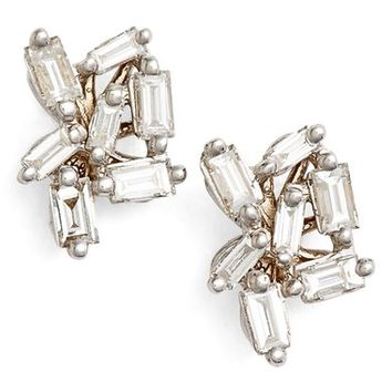 Suzanne Kalan 'Fireworks' Diamond Cluster Stud Earrings | Nordstrom