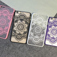 Adorable Lace Floral Iphone 5 5s 6 6s plus Cover Case