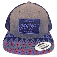 Hooey Hat - 'Totem' Aztec Print Trucker Hat - Blue/Maroon/Black/Grey