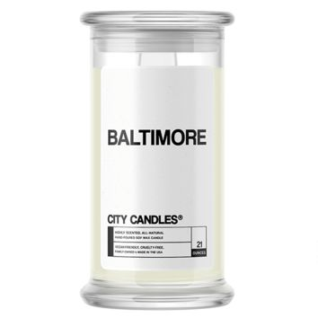 Baltimore | City Candle®
