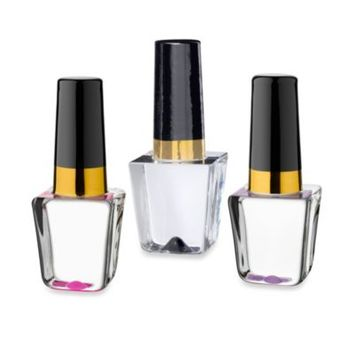 Kosta Boda Make Up Mini Nail Polish Bottle Glass Figurine