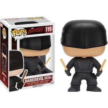 FunKo 849803070281 Daredevil Masked Vigilante Pop Action Figure - Black