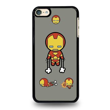 iron man kawaii marvel avengers ipod touch 6 case cover  number 2