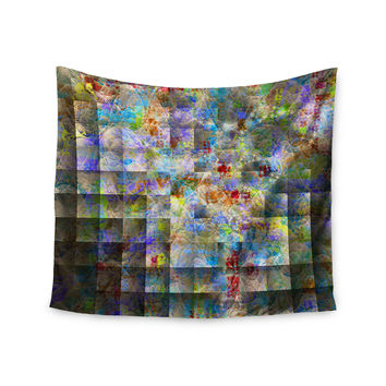 "Michael Sussna ""Yggdrasil"" Rainbow Abstract Wall Tapestry"