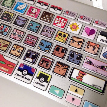 keyboard decal Macbook decal Macbook Pro Keyboard Skin Macbook Air Sticker apple wireless keyboard vinyl sticker
