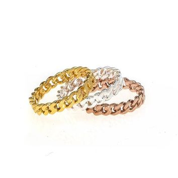 Link Stackable Ring