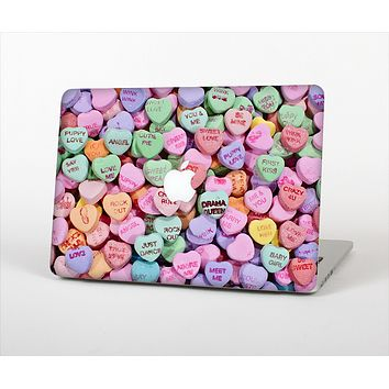 The Candy Worded Hearts Skin Set for the Apple MacBook Pro 13""