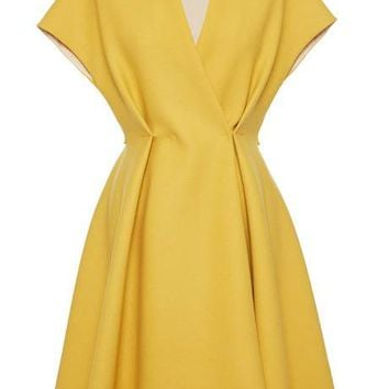 Sportmax Astrid Dress Yellow
