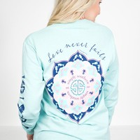 Love Never Fails Sweatshirt | Simply Southern