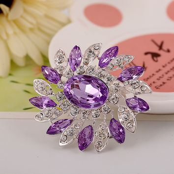 New Arrival Shiny Jewelry Gift Hot Sale Accessory Stylish Diamonds Hollow Out Gemstone Ring [6586078535]
