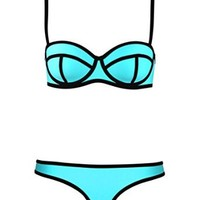 Jiehao 2015 Sexy Women's Bikini Bathing Suit Padded Push up Swimwear Swimsuit