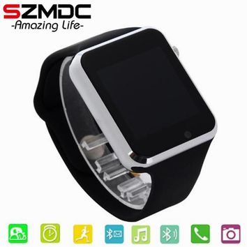 child Bluetooth Smart Watch  With Camera Facebook Whatsapp Twitter Sync SMS Smartwatch Support SIM TF Card For IOS Android PK A1