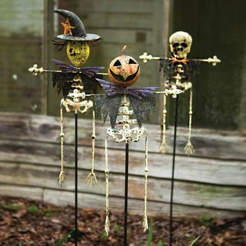 Halloween Yard Stakes (Set of 3)
