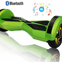 Hover board with bluetooth speaker